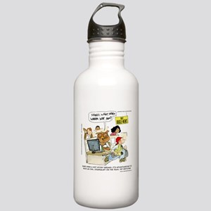 Owl Journalists Water Bottle