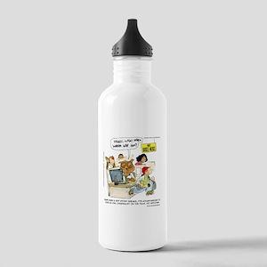 Owl Journalists Water Bottle
