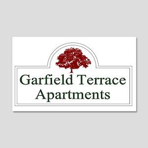 Garfield Terrace Apartments 20x12 Wall Decal