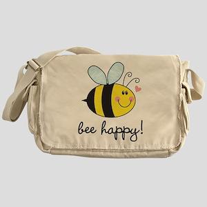 Bee Happy Messenger Bag
