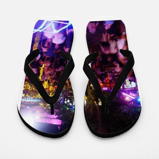 Ayia Napa by night Flip Flops