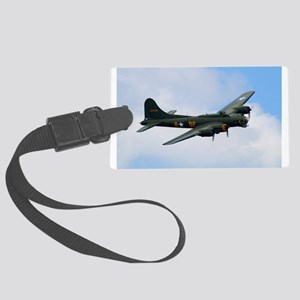 B17 Flying Fortress Sally B Large Luggage Tag