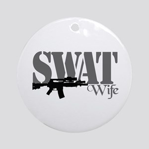 SWAT Wife Ornament (Round)