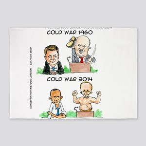 Those Cold Wars 5'x7'Area Rug