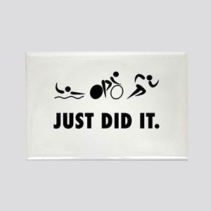 Just Did It Triathlon Magnets