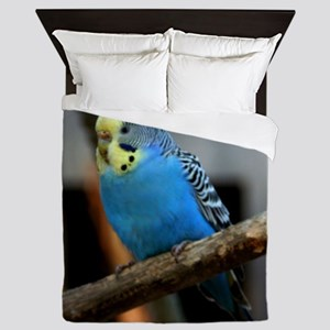 Budgie Flower Queen Duvet