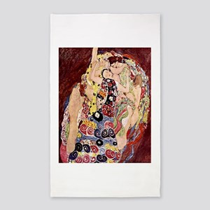 The Virgins Gustav Klimt 3'x5' Area Rug