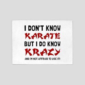 Karate Krazy 5'x7'Area Rug