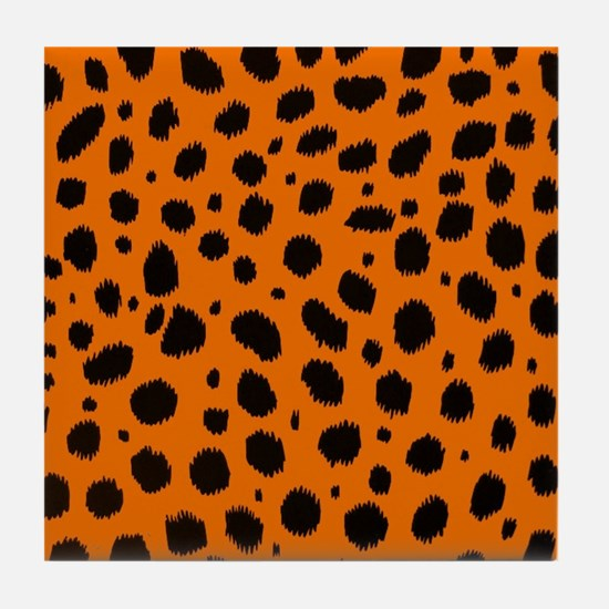 SEEING SPOTS Tile Coaster