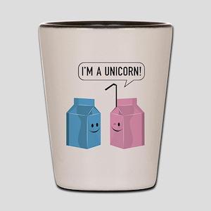 I'm A Unicorn! Shot Glass