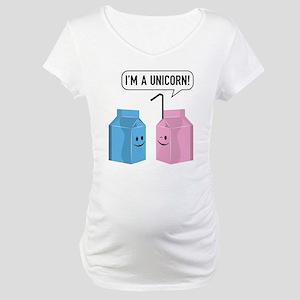 I'm A Unicorn! Maternity T-Shirt