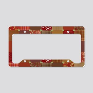 PRIM PATCHWORK License Plate Holder