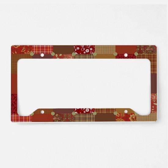 PRIM PATCHWORK License Plate Holder