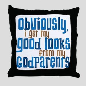 Godparents Throw Pillow