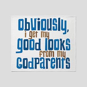 Godparents Throw Blanket