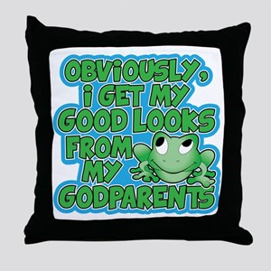 Godparents Throw Pillow