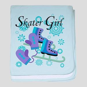 Skater Girl baby blanket