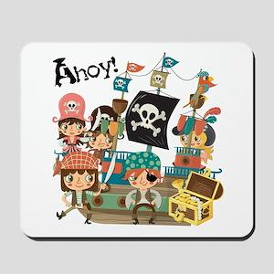Pirates Ahoy Mousepad
