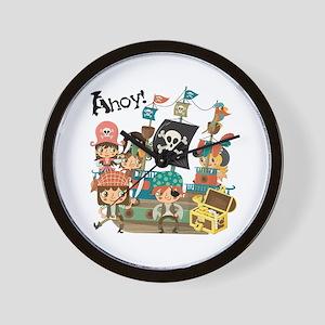 Pirates Ahoy Wall Clock