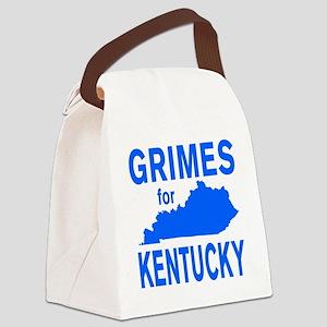 Alison Lundergan Grimes for Kentu Canvas Lunch Bag