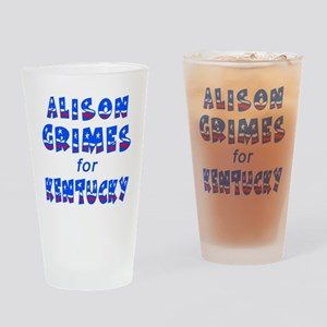 ALISON GRIMES for KENTUCKY Drinking Glass