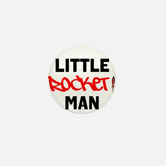 NEW! Little Rocket Man Limited Edition Mini Button