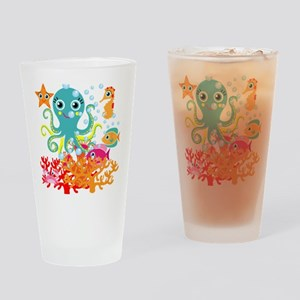 Welcome to the Ocean Drinking Glass