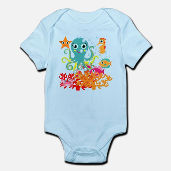 Welcome to the Ocean Infant Bodysuit
