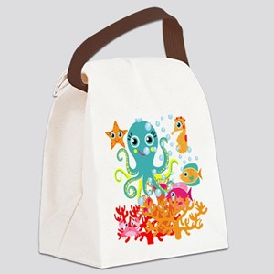Welcome to the Ocean Canvas Lunch Bag
