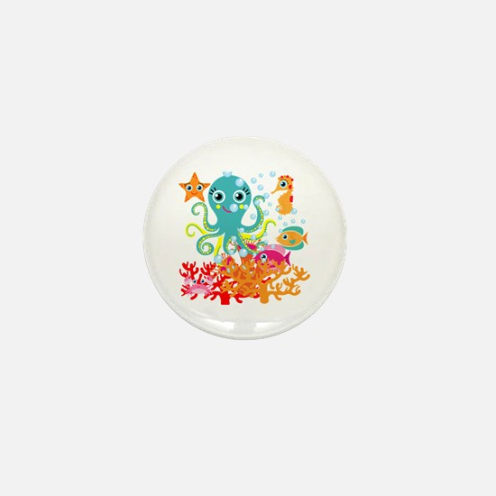Welcome to the Ocean Mini Button