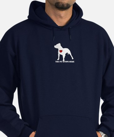 Cool Dog and cat non profit rescue group Hoodie (dark)