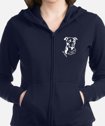 Cute Dog and cat non profit rescue group Women's Zip Hoodie