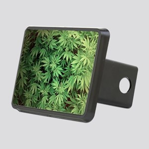 Marajuana Weed Pot Rectangular Hitch Cover