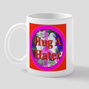 Hug A Hater Red Mug