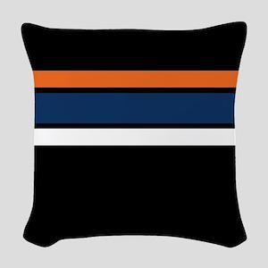 Team Colors 2 ...orange, blue, white and black Wov