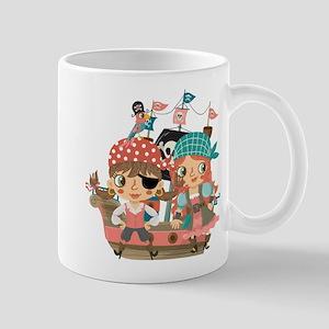 Girly Pirates Mug