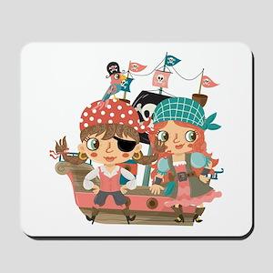 Girly Pirates Mousepad