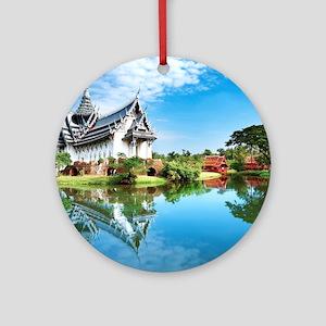 Ancient Siam Ornament (Round)