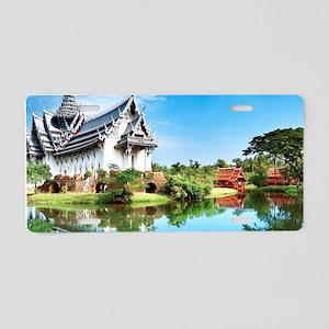 Ancient Siam Aluminum License Plate