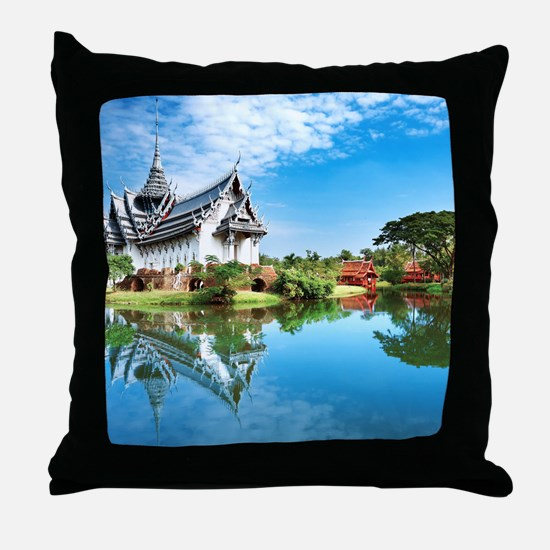 Ancient Siam Throw Pillow