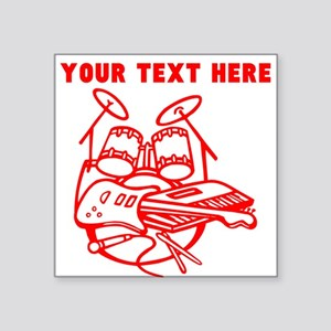 Custom Red Rock Instruments Sticker
