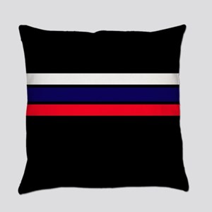 Team Colors 2...red,white and blue Everyday Pillow