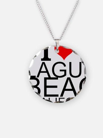 I Love Laguna Beach, California Necklace