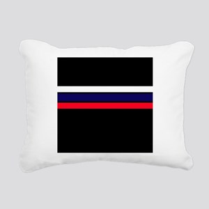 Team Colors 2...red,white and blue Rectangular Can
