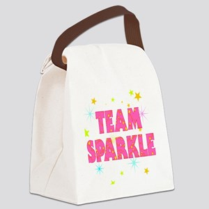 Team Sparkle Canvas Lunch Bag