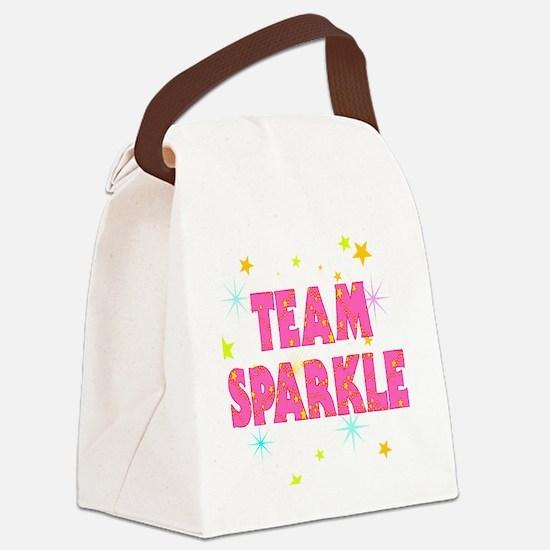 Team Sparkle Canvas Lunch Bag
