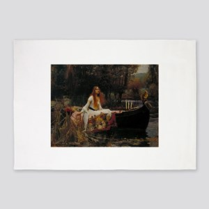Lady Of Shalott 5'x7'Area Rug