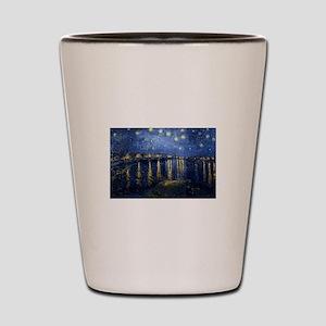Starry Night Over Rhone Shot Glass