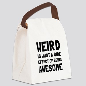 Weird Awesome Canvas Lunch Bag