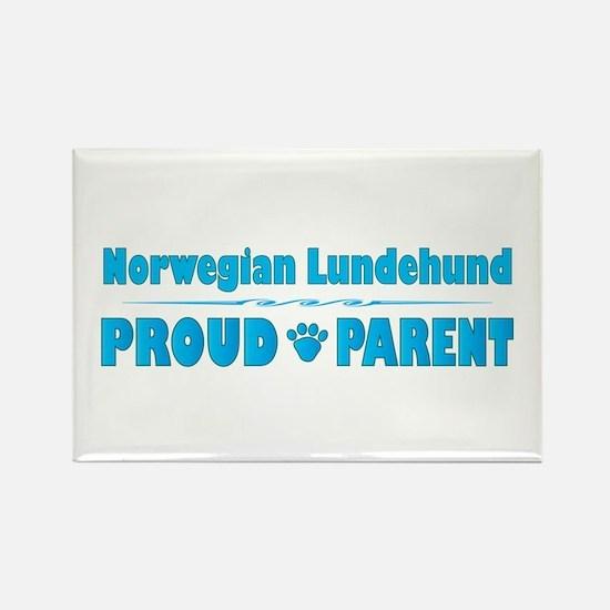 Lundehund Parent Rectangle Magnet (10 pack)